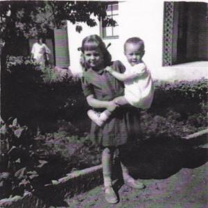 Sister holding me in Murtazapur